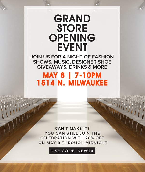 city soles' grand opening