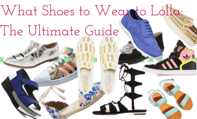 What shoes to wear to Lollapalooza