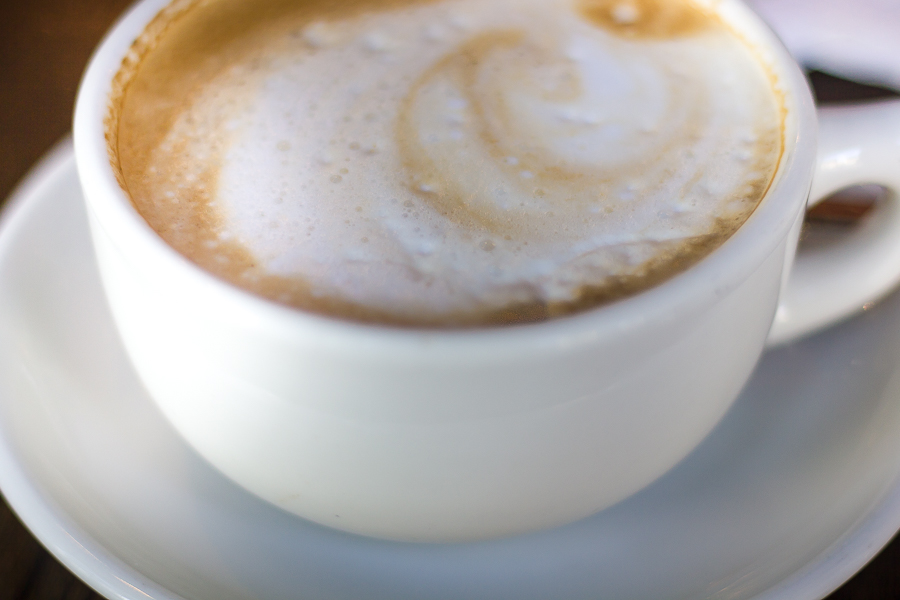 Cafe con leche in logan square