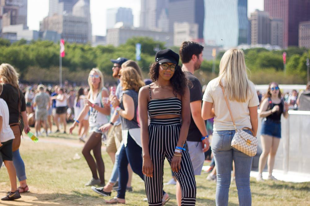 Lollapalooza 2017 attendee