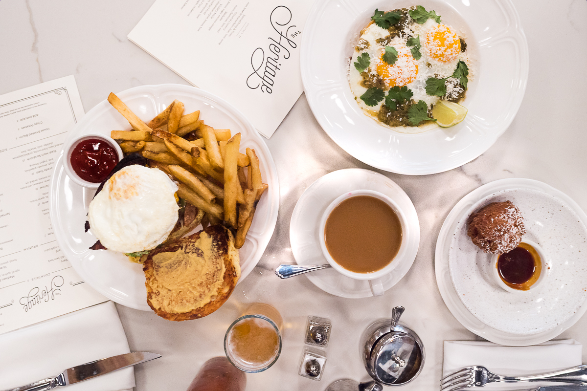 A photo by Chicagoings of the brunch at The Heritage in Forest Park.
