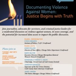 Violene Against Women Event Invitation