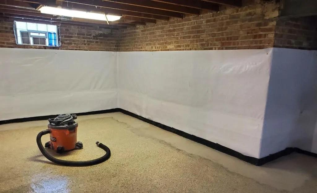 drain tile drainage tile system