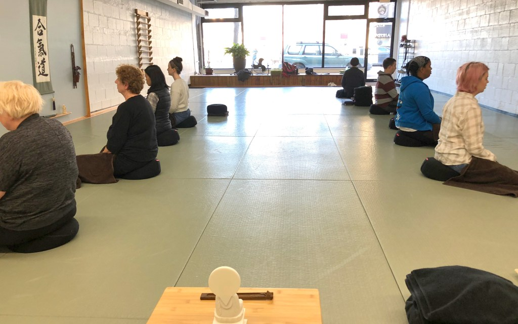 Meditation group in Chicago