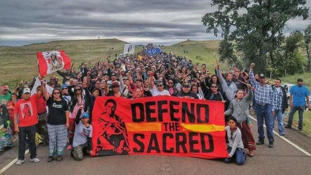 Sacred Stone Camp Facebook Page