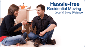 hassle free residential movers