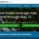 ACA reopens Sign up for health insurance