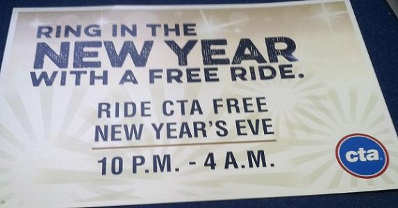 CTA New Years Eve