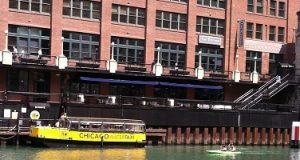 Clark LaSalle Water Taxi stop