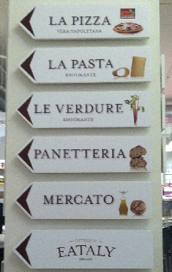 Eataly 2nd floor