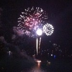 Free Fireworks Wednesday nights at Navy Pier