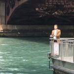 Free fishing Chicago Riverwalk