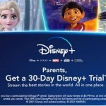 One month of Disney+ free with cereal purchase