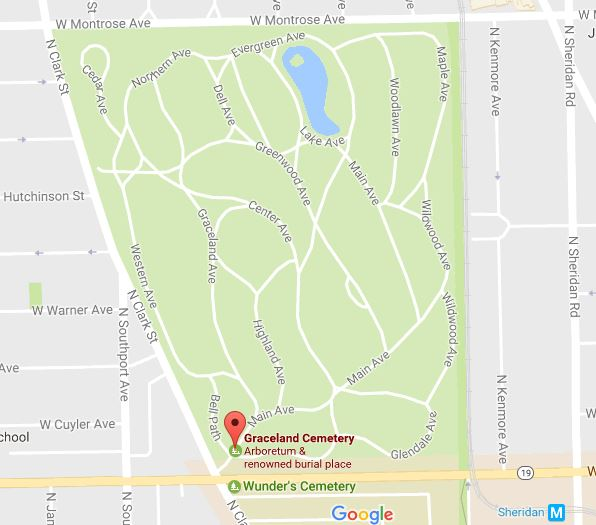 Free tour of Graceland Cemetery