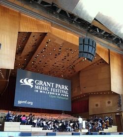 Grant Park Orchestra Rehearsal