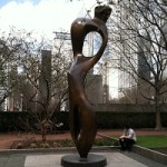 Take a free art tour of Grant Park Chicago