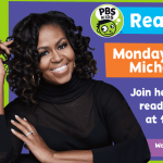 Monday story-times with Michelle Obama