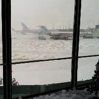 Ohare airport winter