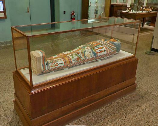 Oriental Institute of Chicago mummy