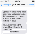 Join Spring Rewards: Get $50 free