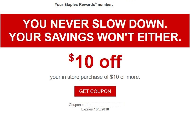 image about Staples Printable Coupon referred to as Staples Package deal $6 off $6 buy - Chicago upon the Affordable