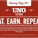 Join Uno Rewards Get free individual pizza Update