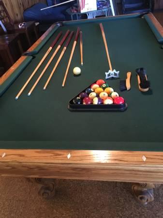 Solo 174 Mchenry Hippopotamus Pool Table 103