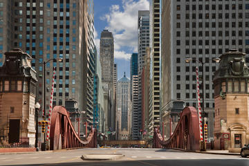 The draw bridges of Chicago are over 100 years old