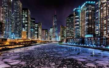 town-night-chicago-states-united-the-river