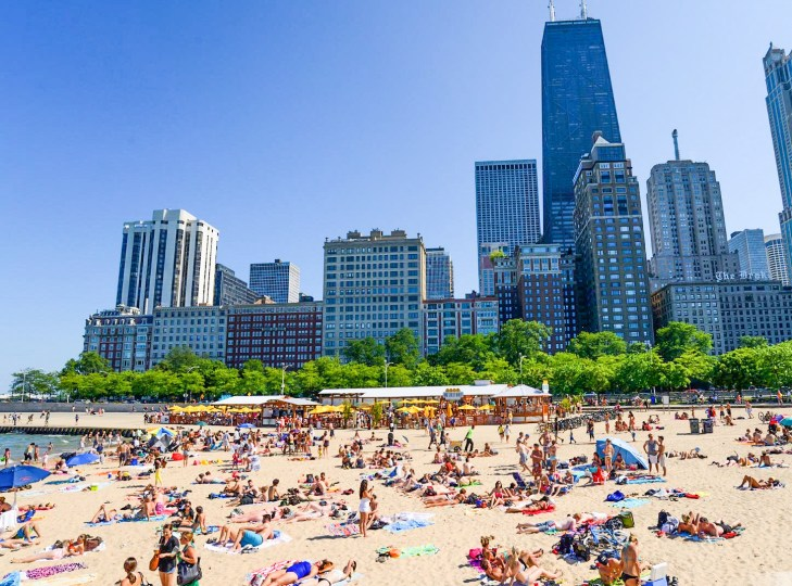 Chicago Oak Street Beach,,,,,