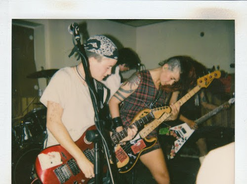 Tribe 8 plays a Homocore show at Czar Bar in the early 90s.