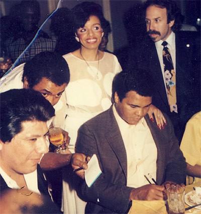 Wooten with Muhammad Ali