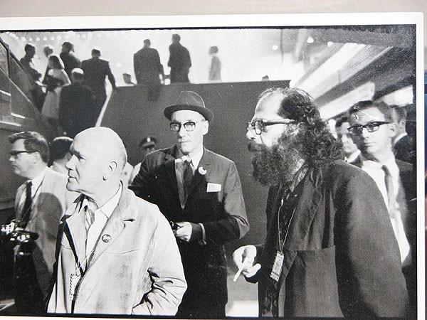 Jean Genet, Allen Ginsburg, William S. Burroughs