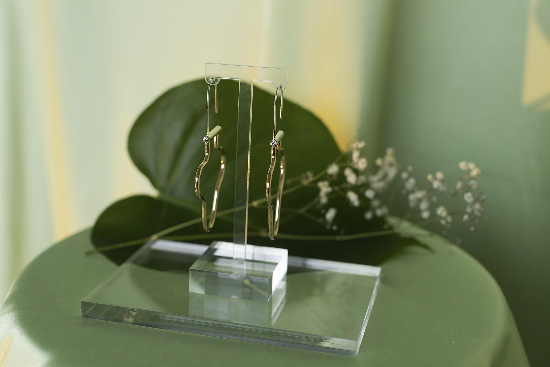 Earrings by Cindre