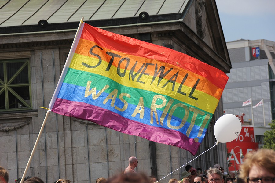Pride is a celebration, but it also has its roots in a riot.