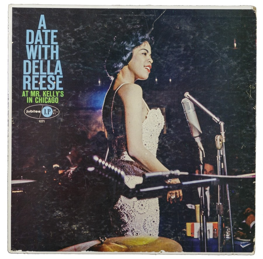 Cover of live Della Reese recording from Mister Kelly's
