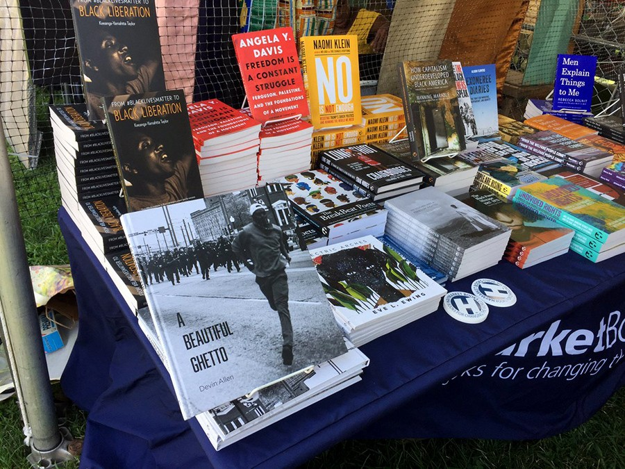 The Haymarket table at Afropunk 2017