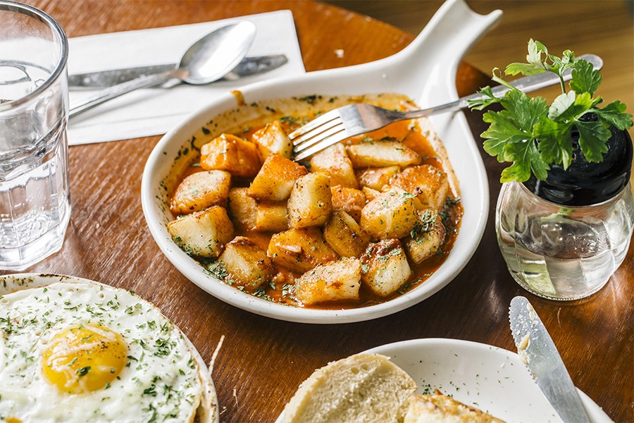 Move over, other tapas restaurants, there are new <i>patatas bravas</i> in town.