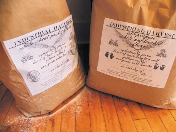 Flour in Kavage's Industrial Harvest packaging