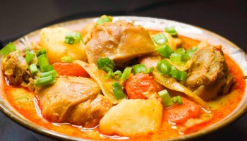 Mona Sang's Khmer chicken curry