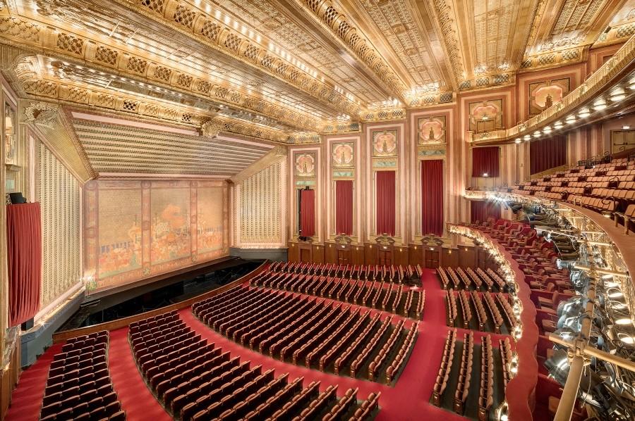Interior of the Lyric Opera