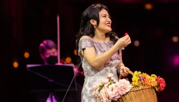 "Denis Vélez in the Lyric Ryan Opera Center's ""Rising Stars in Concert"""
