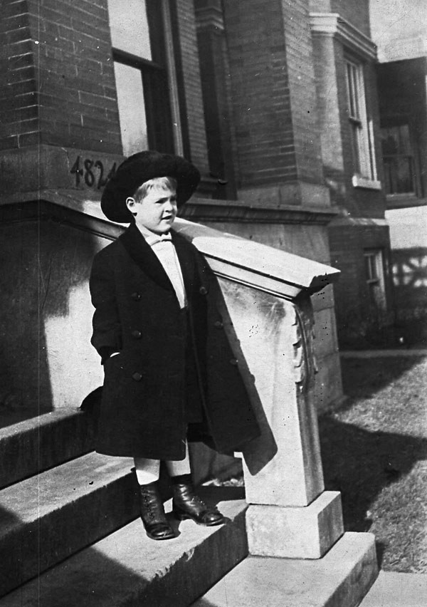 Ryan as a child in Uptown