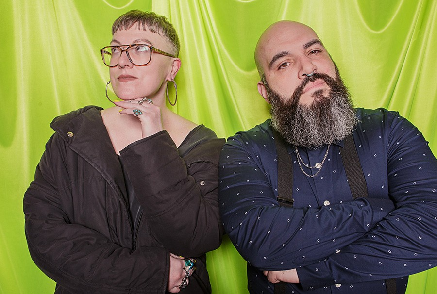 GlitterGuts founders Sarah Joyce and Eric Strom