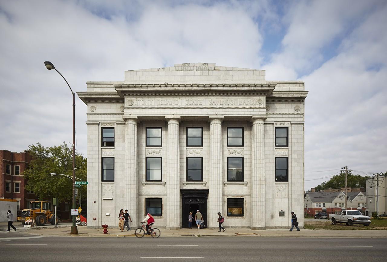 Gates' refurbished Stony Island Arts Bank