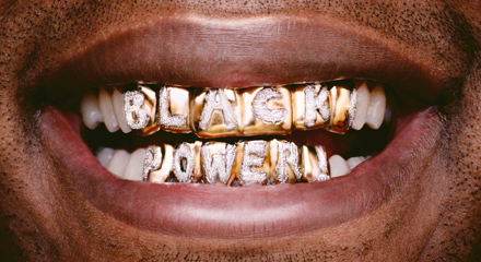<i>Black Power</i> by Hank Willis Thomas