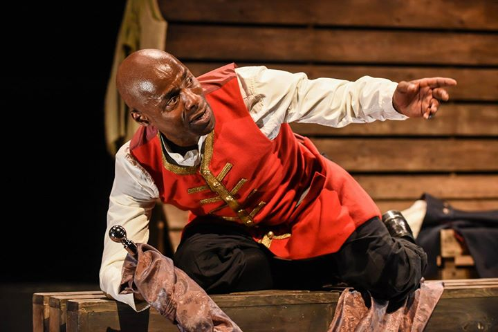 Royal Shakespeare Company actor Paterson Joseph in <i>Sancho: An Act of Remembrance</i>