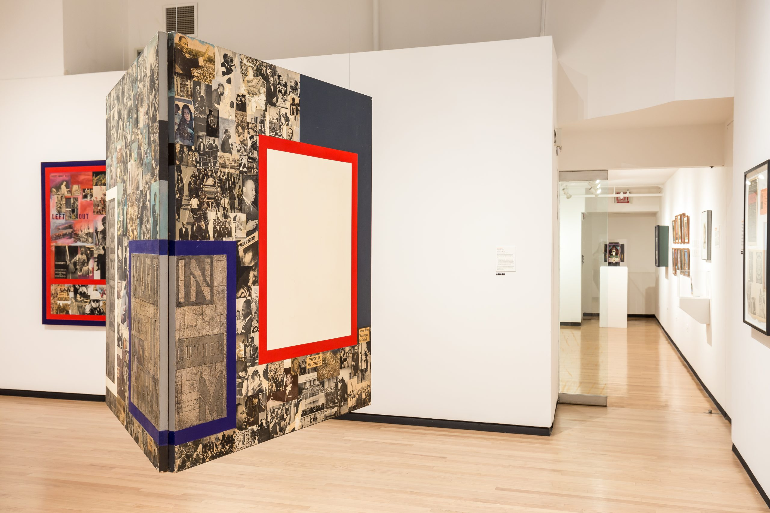 Ralph Arnold's <i>Unfinished Collage</i>, 1968, at MoCP