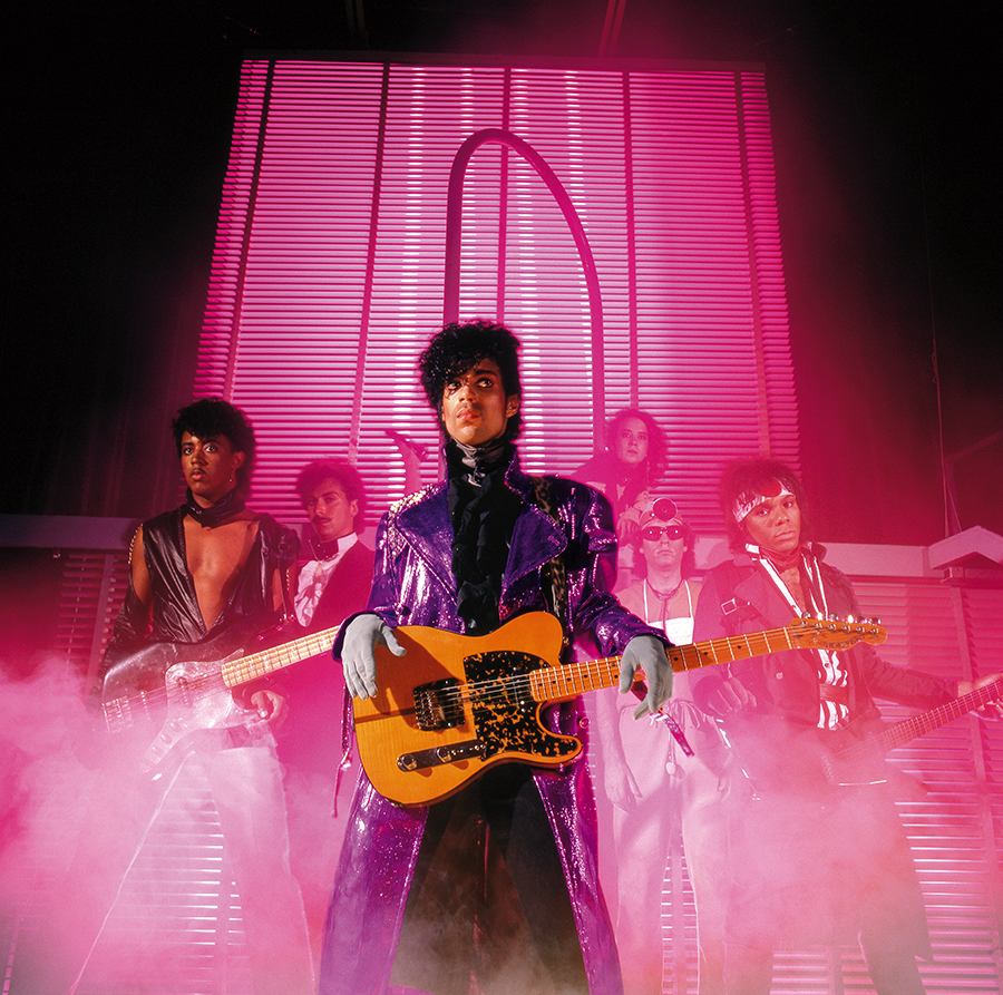 Prince and his band the Revolution during the <i>1999</i> era