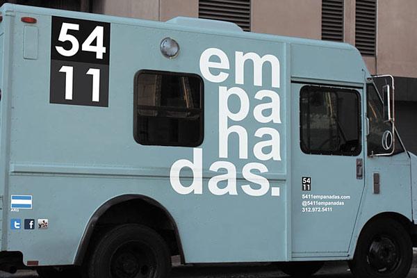The 5411 Empanadas truck